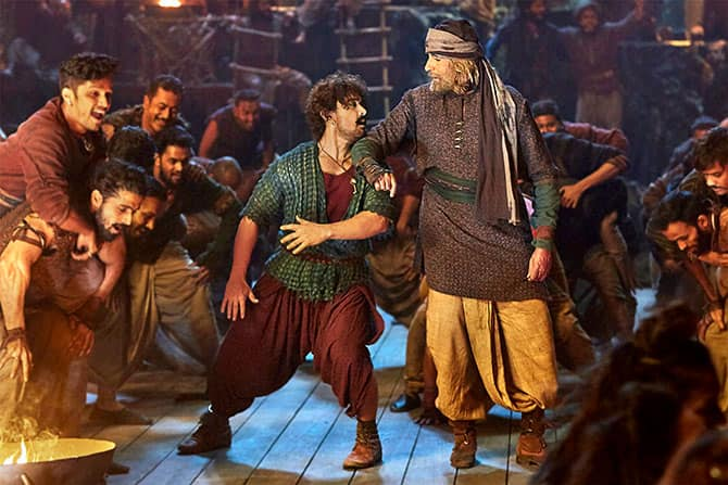Aamir Khan Suffers His First Major Flop Thugs of Hindostan 18 Years After Mela - Listing His Top 10 Flops