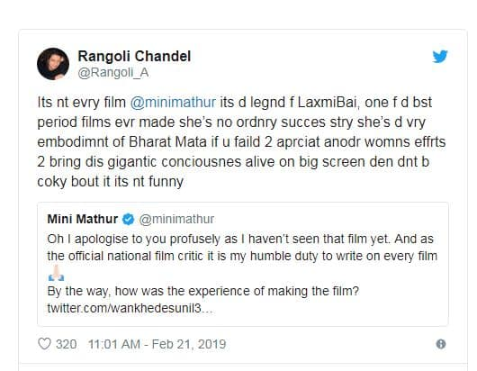 Move Over Kangana, Sister Rangoli Chandel's Twitter War With Bollywood Celebrities Is The Real Deal
