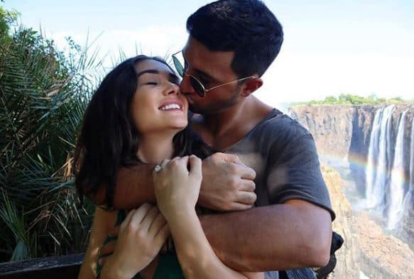 2.0 Actress Amy Jackson Gets Engaged To Boyfriend George Panayiouto