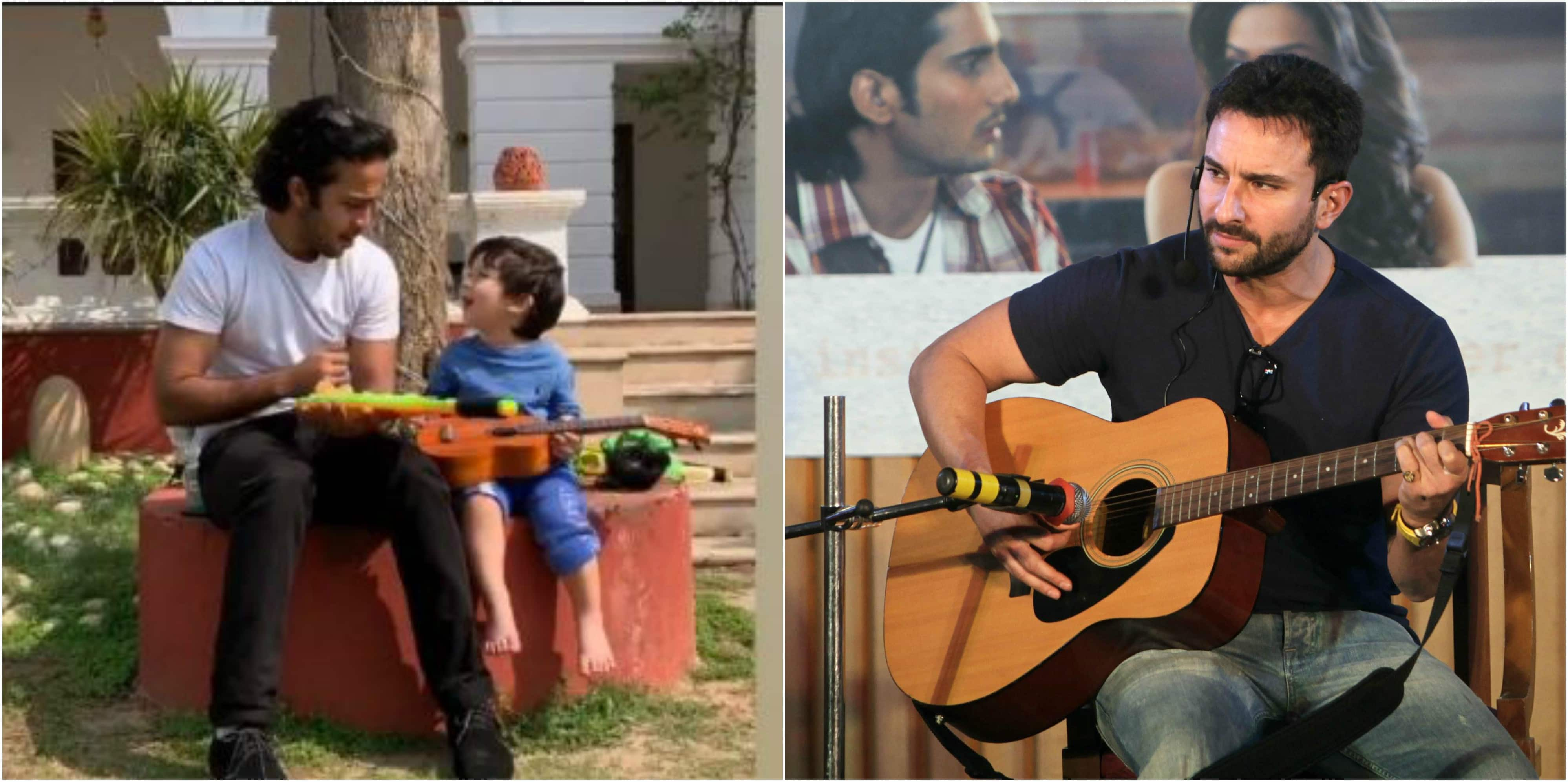 Taimur Ali Khan Is Turning Out To Be A Mini Saif Ali Khan, Here Is Proof