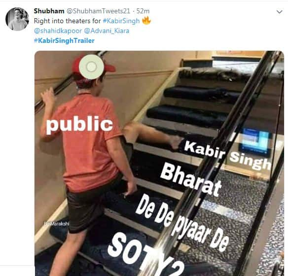 Kabir Singh Trailer: From Memes To Fan Art And Out Pouring Love, Shahid Kapoor Is Owning Twitter Right Now