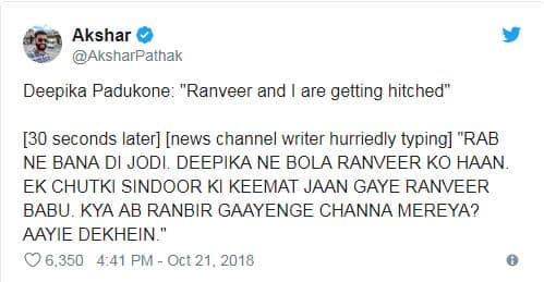 Twitterati Turns Ranveer Deepika Wedding Into The Biggest Meme Fest We Have Seen In A While