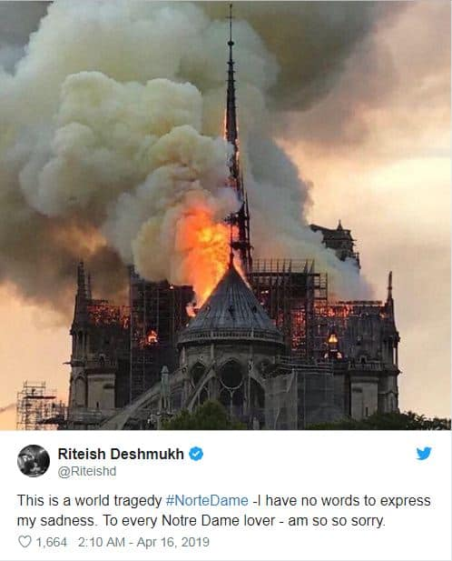 Notre Dame Fire: From From  Films To Twitter Reactions, Here Is How Bollywood Has Been Reminiscing The Iconic Cathedral