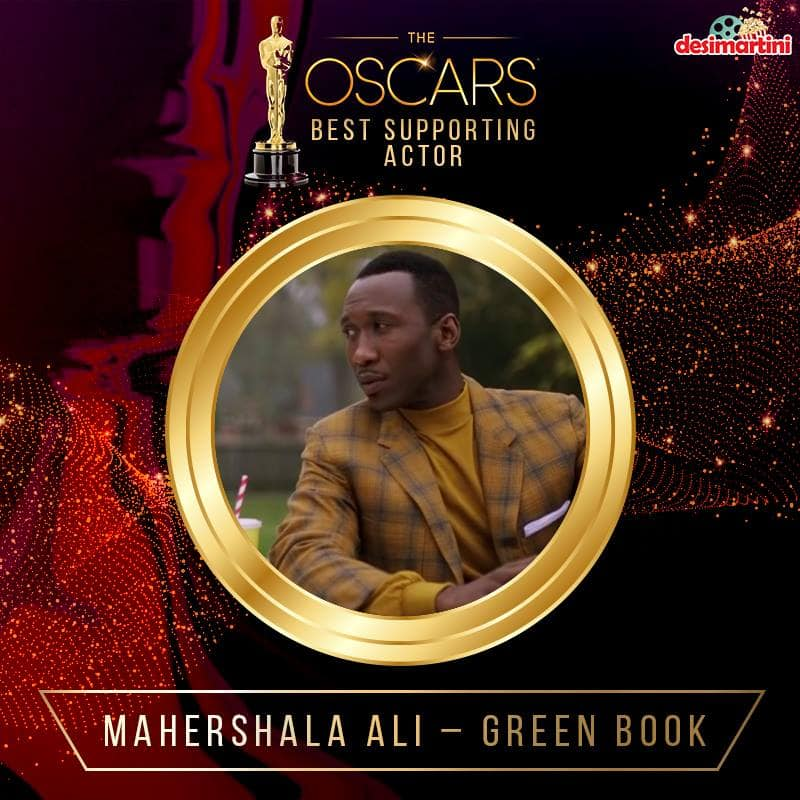 Oscars 2019 - Mahershala Ali Is A Second Time Winner Of The Oscar For The Best Supporting Actor