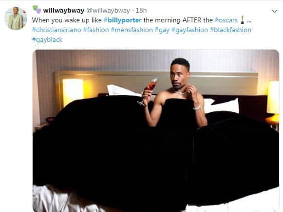 Billy Porter's Tuxedo Gown at The Oscars 2019 Not Only Inspired Fashion But Also Hilarious Twitter Memes