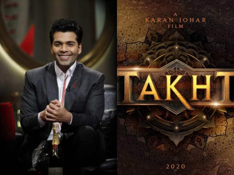 Karan Johar Refutes Rumours About Acquisition Of His Film Takht, Calls Them Baseless