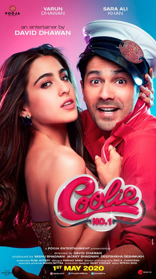 Coolie No.1 First Look: Varun Dhawan And Sara Ali Khan Hits Us With A Flood Of 90s Nostalgia