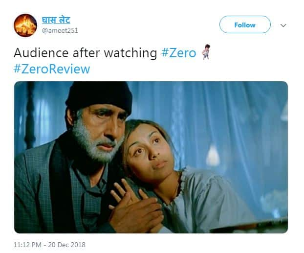 As SRK Fans Rejoice In Zero, Some Twitteratis Express Their Displeasure In Hilarious Ways