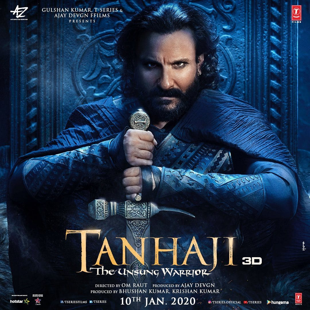Saif Ali Khan's New Poster As UdayBhan From Tanaaji Is Giving Us Major Jon Snow Vibes