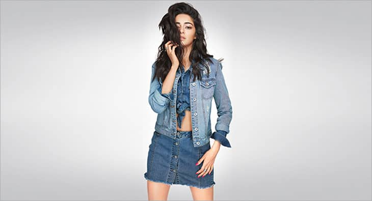 Ananya Pandey Roped In By A European Denim Brand As Their Brand Ambassador