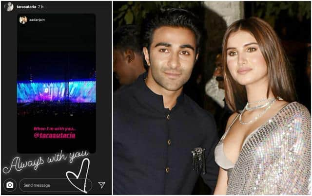 Did Tara Sutaria And Aadar Jain Just Made Their Relationship Instagram Official?