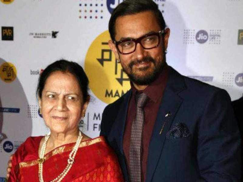 Aamir Khan often visits mom Zeenat's home in the night; Note why