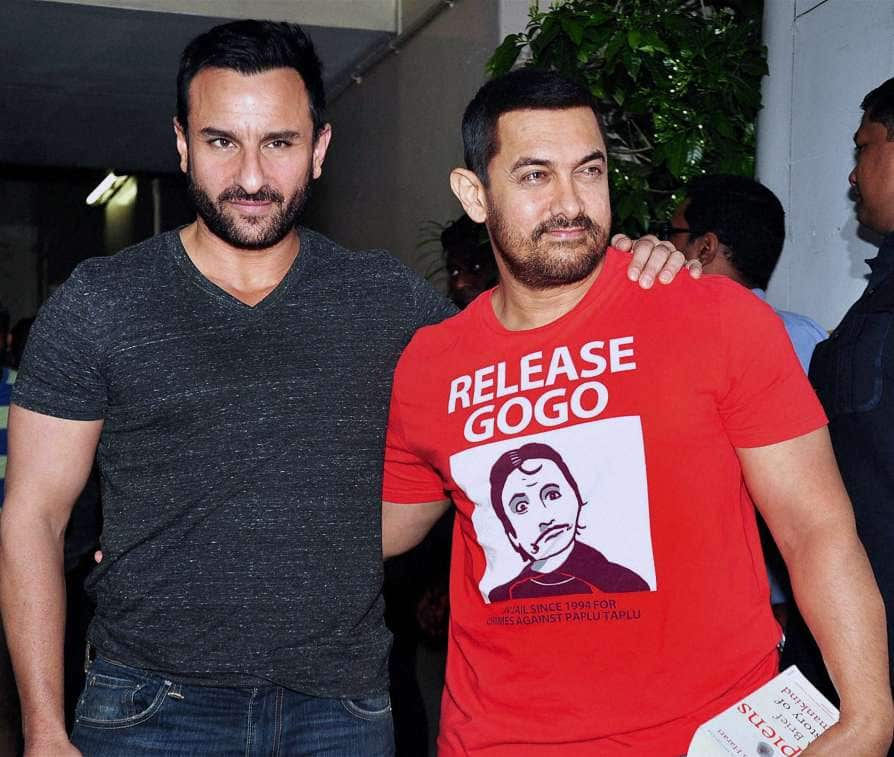 Saif Ali Khan Reveals Whether He Is Part Of The Hindi Remake Of Vikram Vedha With Aamir Khan!