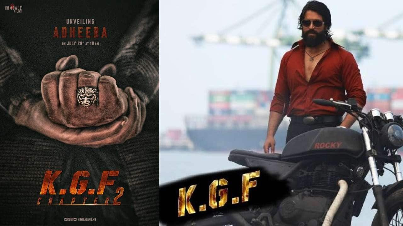 Sanjay Dutt's First Look From KGF 2 Revealed And The ...