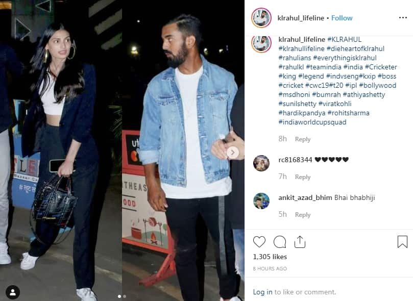 Athiya Shetty And Cricketer KL Rahul Spark Relationship Rumours As They Are Spotted Heading For Dinner Together