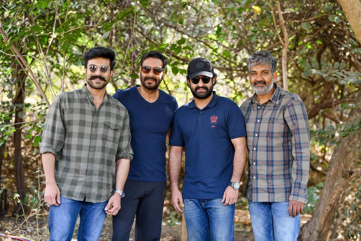 S.S. Rajamouli Spell Bound By Ajay Devgn's Simplicity On RRR Sets, Reveals The Actor Shot Without A Break On Last Day