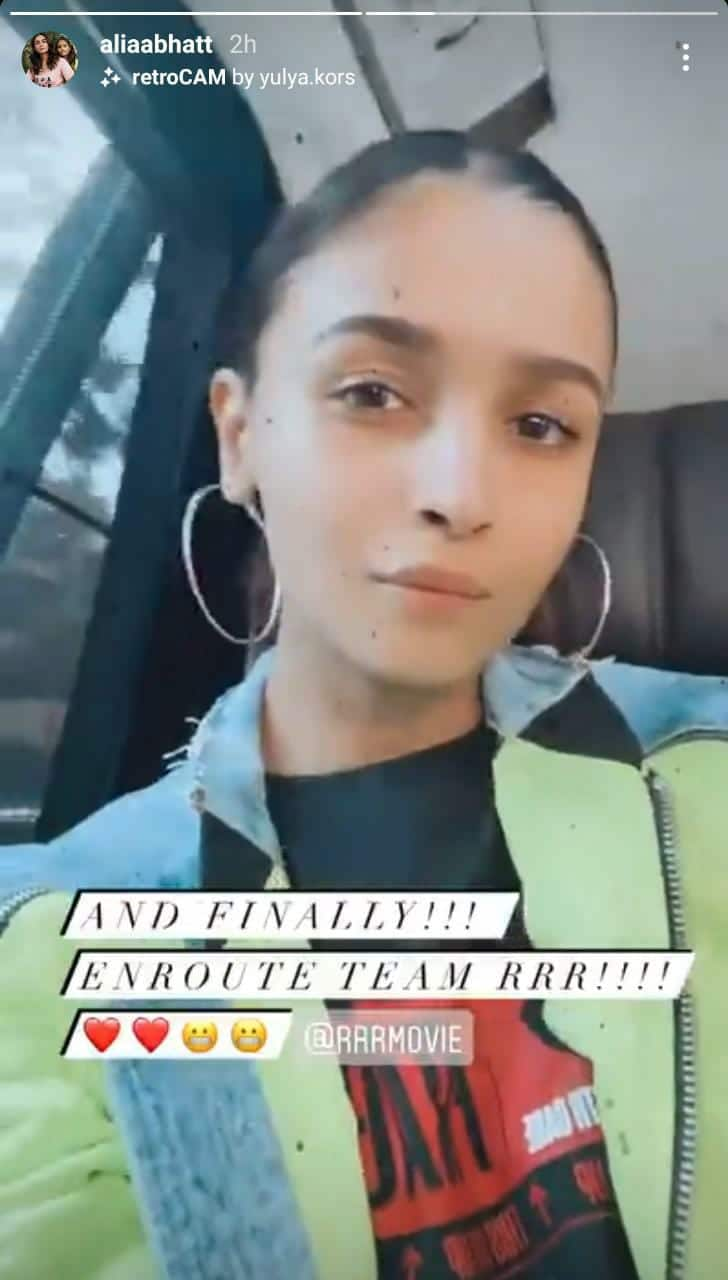 Alia Jets Off To Hyderabad For SS Rajamouli's RRR; Janhvi Shares A Beautiful Clip From Dance Practice