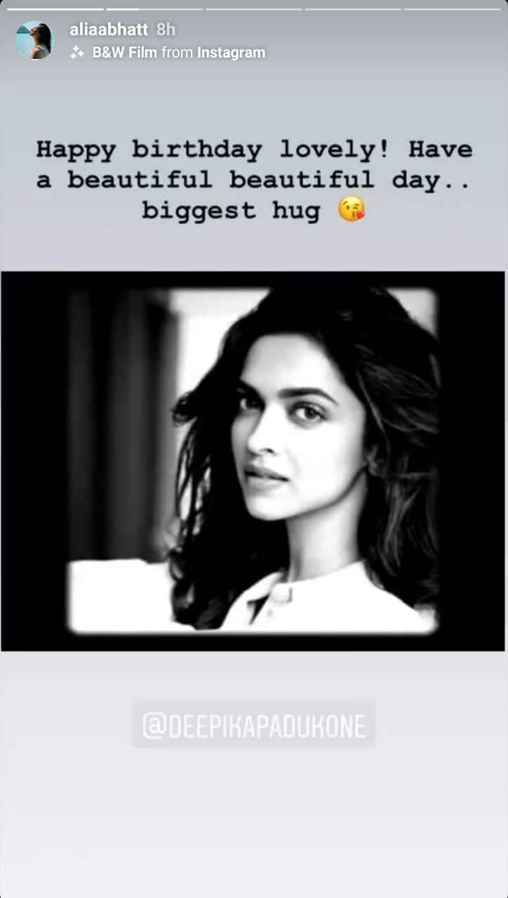 Alia Bhatt, Katrina Kaif, Diana Penty Share Adorable Posts Wishing Deepika Padukone On Her Birthday; Take A Look