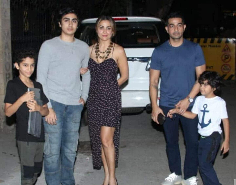 अर्जुन कपूर ने मलाइका अरोड़ा की मम्मी के बर्थडे पर उनकी फैमिली को किया जॉइन, बेटे अरहान भी थे मौजूद!