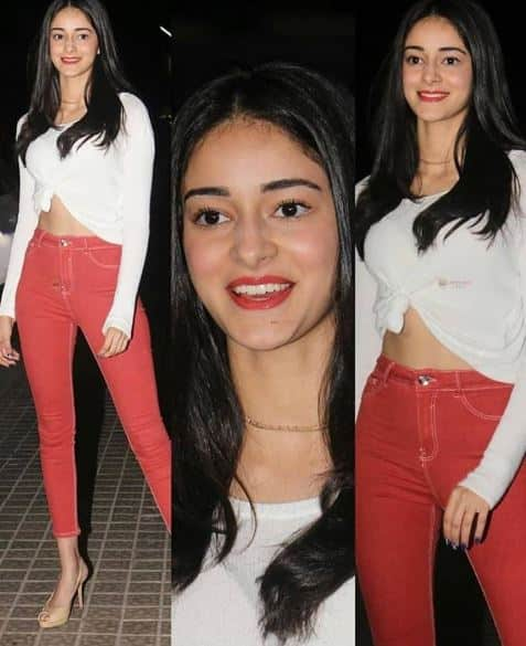 Ananya Pandey Just Added A Twist To Classic Denims And White T-Shirt And You Need It In Your Life ASAP