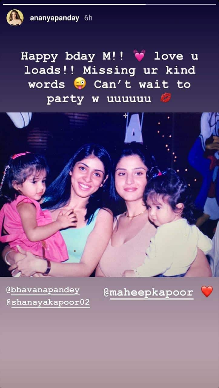 Janhvi Gives Us A Glimpse Of Family Game Night; Ananya Shares An Adorable Childhood Pic With Shanaya