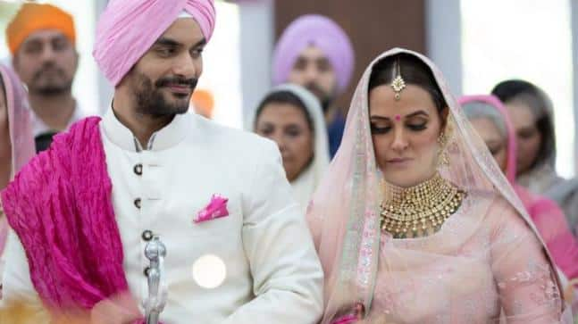 On Their First Marriage Anniversary Angad Bedi He Reveals Wouldn't Have Settled Down Had It Not Been For Neha Dhupia