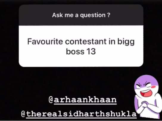 Ex Bigg Boss 13 Contestant Arhaan Khan Reveals His Favourite Contestant From The Reality Show, And It's Not Ex Rashami Desai