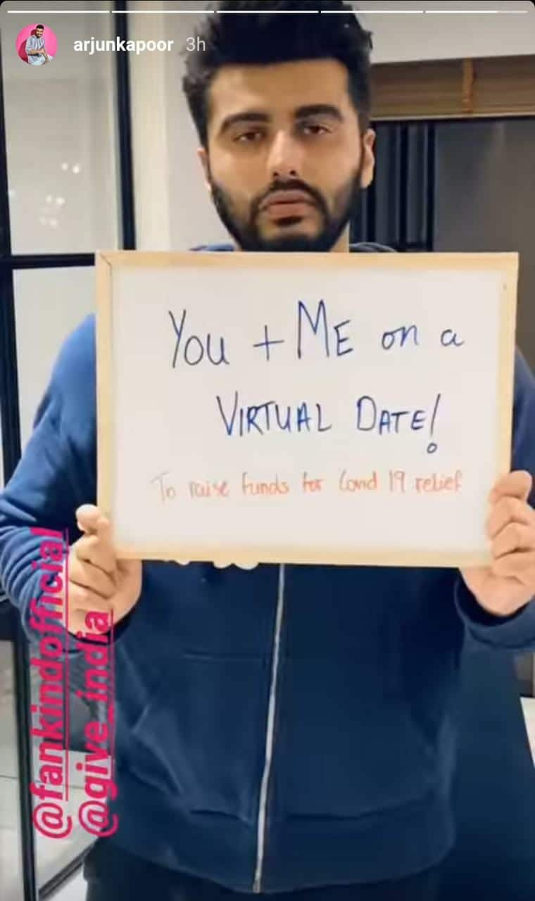 Arjun Kapoor To Go On Virtual Dates Amid COVID-19 In Order To Help Raise Funds; Read On