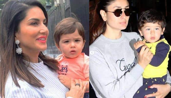 सैफ और करीना के बेटे तैमूर अली खान की हुबहू कॉपी है सनी लियोनी के बेटा, देखिये तस्वीरें !