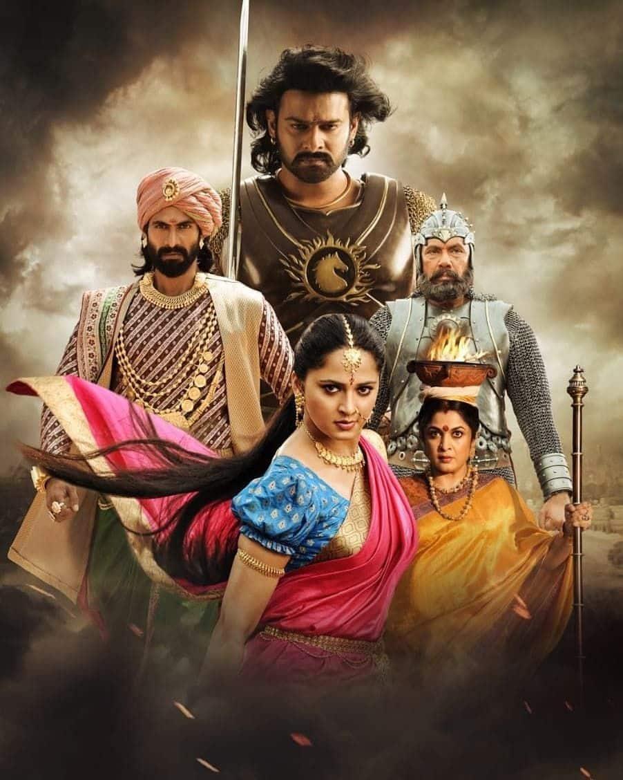 Prabhas, Anushka Shetty And Tamannaah Bhatia Celebrate 3 Years Of Baahubali 2; Share Unseen BTS Pictures