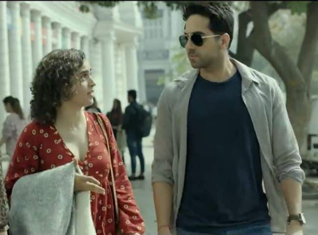 Ayushmann Khurrana And Sanya Malhotra's Badhai Ho Trailer Will Make You Uncomfortable And Roll On Floor With Laughter