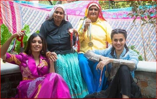 Taapsee Pannu Hits Back At People For Trolling Her For Playing Older Character In Saand Ki Aankh