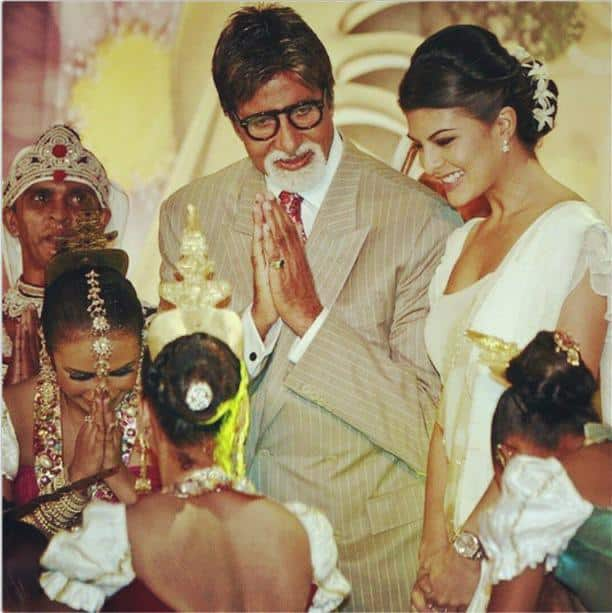 Jacqueline Fernandez Remembers Sharing The Screen With Amitabh Bachchan In Debut Film Aladin