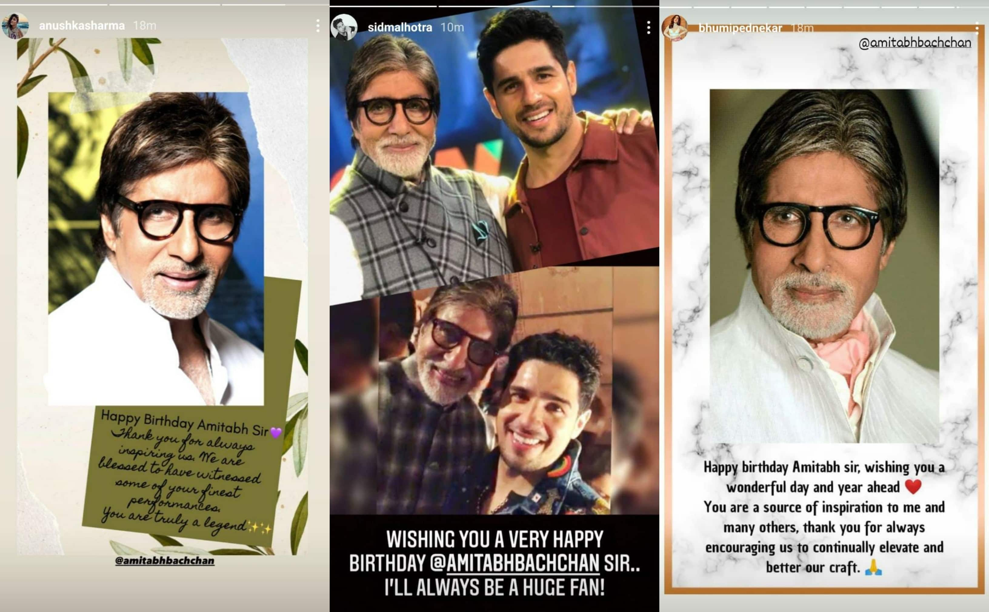Happy Birthday Amitabh Bachchan: Priyanka Chopra, Prabhas And Others Shower The Legend With Love