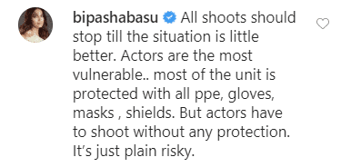 Bipasha Basu Reacts To Parth Samthaan Testing Positive For COVID-19: Actors Shoot Without Protection, It's Just Plain Risky