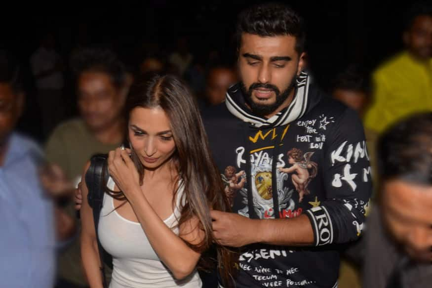 Arjun Kapoor and Malaika Arora make relationship official