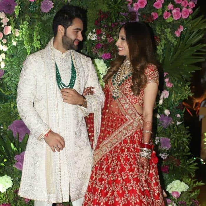 अरमान जैन की शादी के रिसेप्शन में करिश्मा, करीना, ऐश्वर्या समेत पहुंचे बॉलीवुड स्टार्स !
