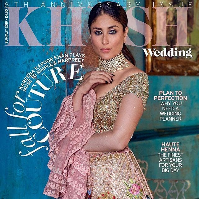 Kareena Kapoor Khan Looks Ethereal In Sarees As She Poses For A Magazine Cover! See Pictures...