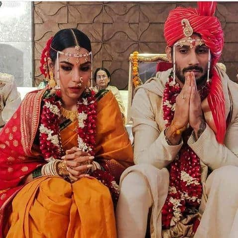 In Pictures: Baaghi 2 Actor Prateik Babbar Ties The Knot!