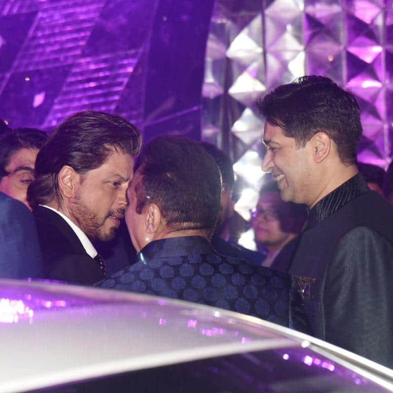 Shah Rukh Khan, Nora Fatehi, Sooraj Pancholi And Other Bollywood Stars Grace Azhar Morani's Sangeet Ceremony!