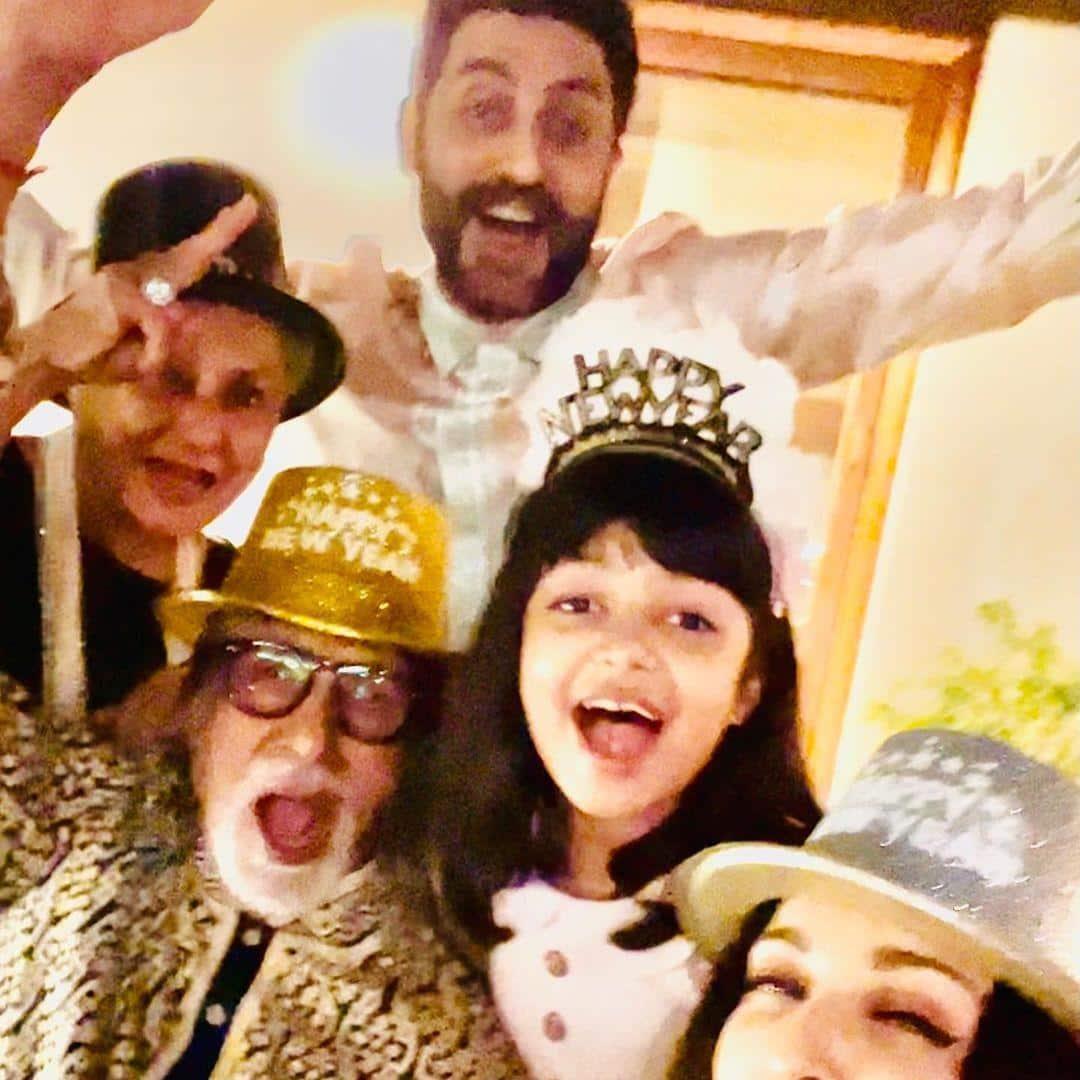 New Year 2021: Amitabh, Jaya, Aishwarya, Abhishek And Aaradhya Ring In The Year In Style; See Pics