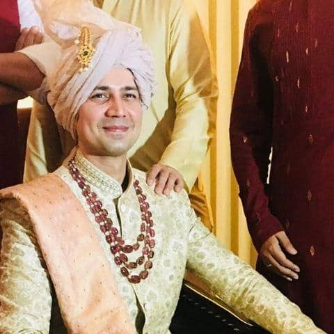 In Pictures: Permanent Roommate Star Sumeet Vyas And Ekta Kaul Tie The Knot!