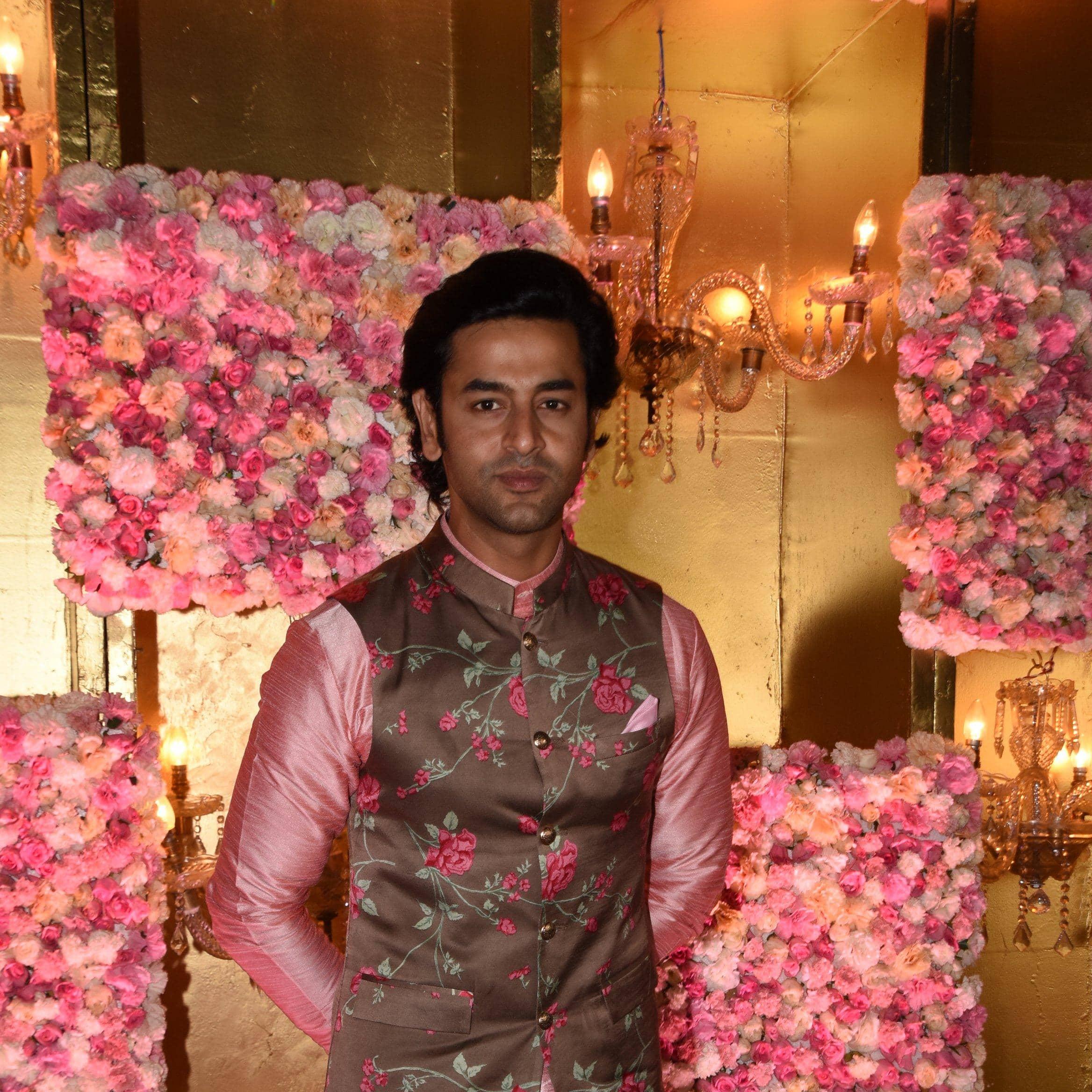 TV Stars Come Together To Celebrate Divyanka's Ex, Ssharad Malhotra's Sangeet Ceremony!