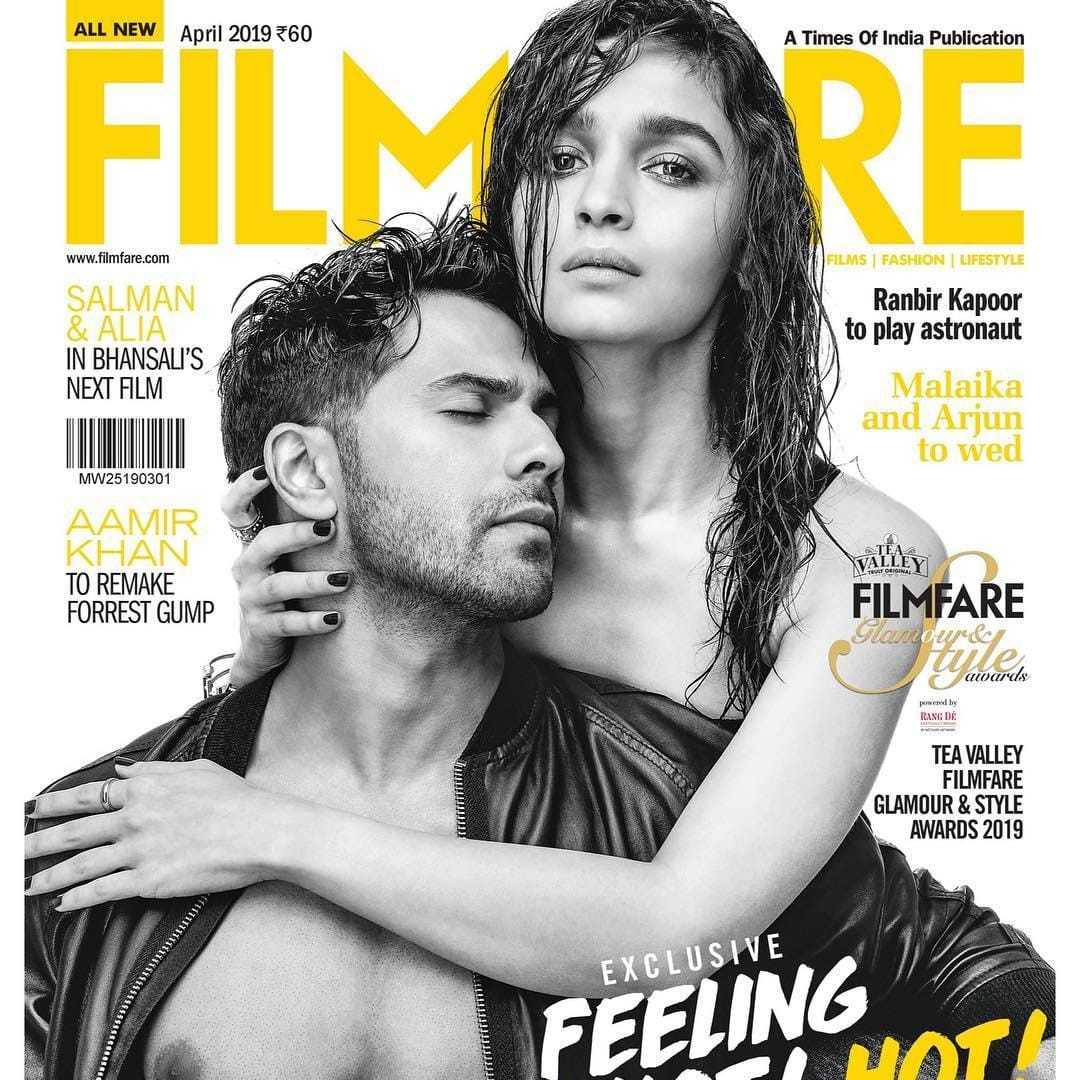 Varun Dhawan And Alia Bhatt Turn On The Heat In Their New Photoshoot