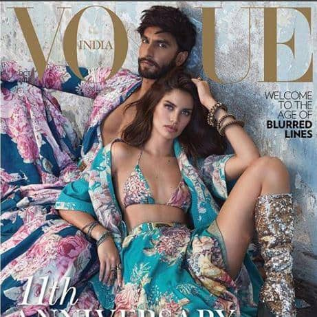 These Pictures From Ranveer Singh And Victoria's Secret Model Sara Sampaio Photoshoot Are Uber Cool!