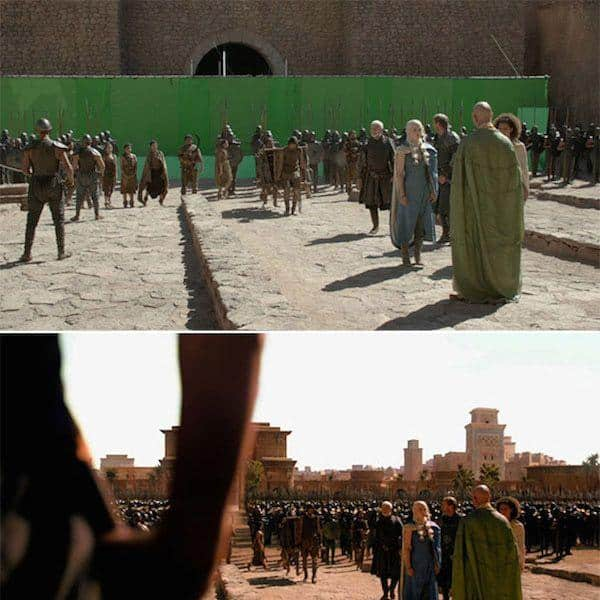 10 Pictures Of Game Of Thrones Before Special Effects That Will Leave Your Jaws Dropped!