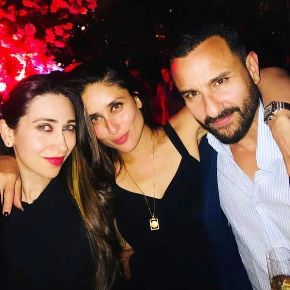 Karisma Kareena Saif London Party Picture