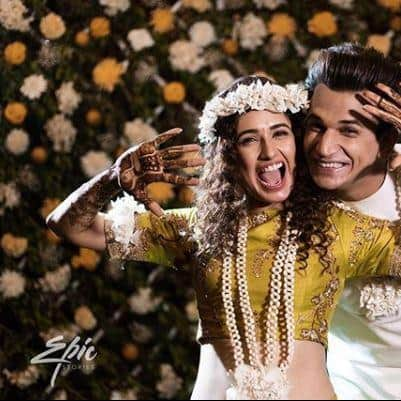 In Pictures: The Picture Perfect Mehendi And Ring Ceremony Of Prince Narula And Yuvika Chaudhary!