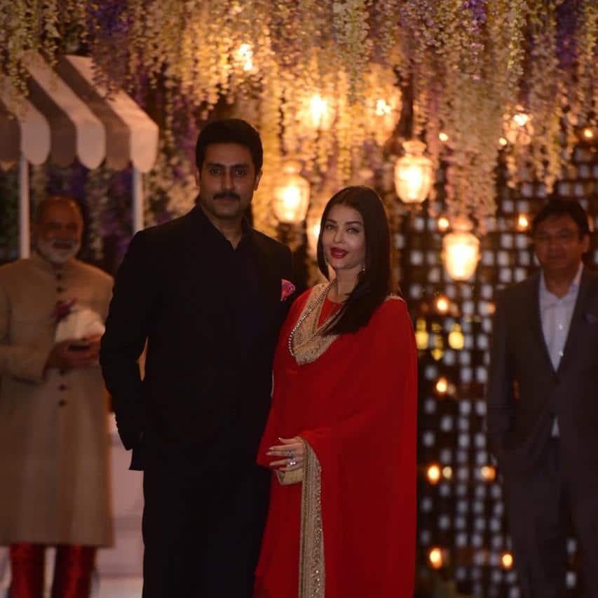 Shah Rukh Khan, Abhishek-Aishwarya, Shahid-Mira And Other Celebs Attend Ambani's Niece's Pre-Wedding Bash!