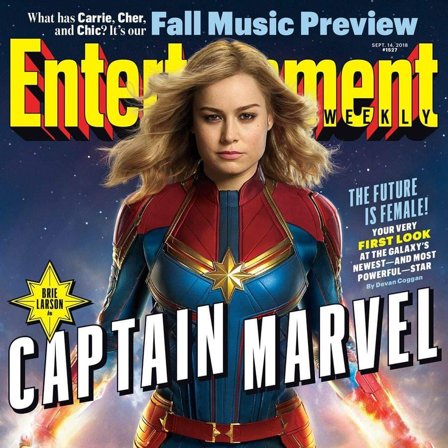 Check Out The First Pictures Of Captain Marvel!